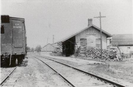 eldorado - cnr station- historic picture.