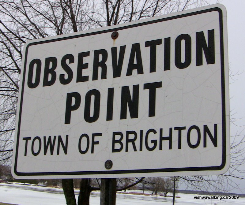 sign-observation point