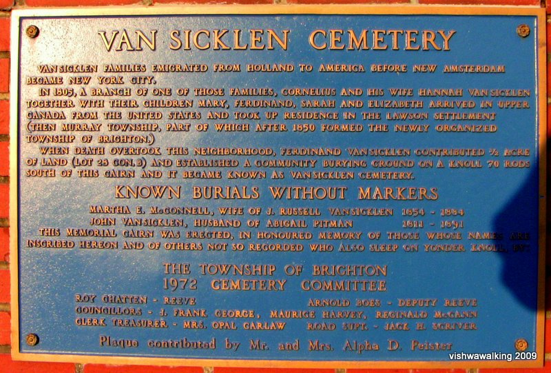 vansickle plaque