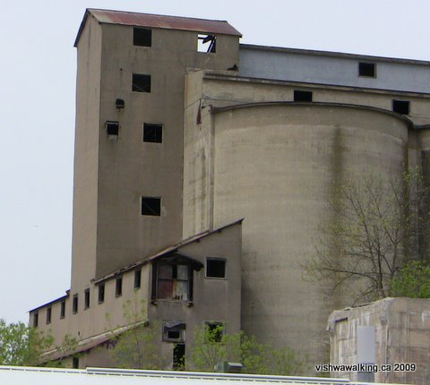 Lakefield, cement plant, south end