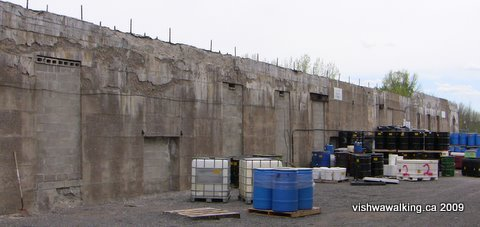 Lakefield, cement, sgs, storage yard