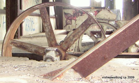 Lakefield cement plant, wheel