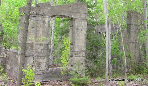 Matlbank cement plant, ruins