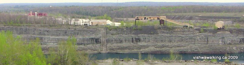 marmora mine overview, from quarry