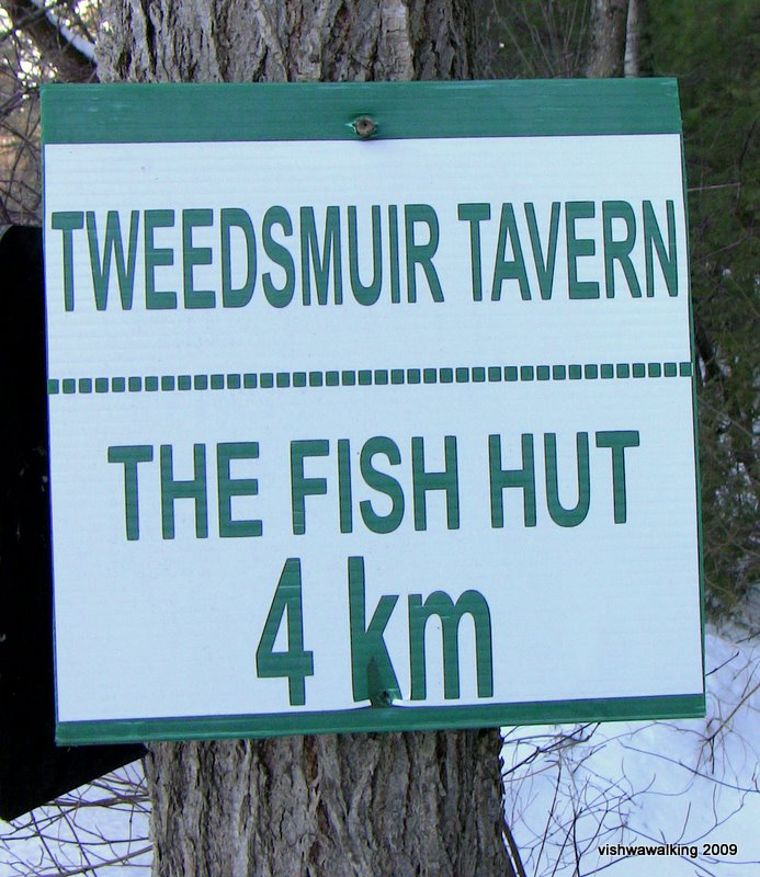 sign-tweedsmuir and fish hut